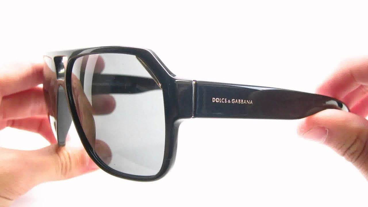 660c61d918 Dolce   Gabbana DG 4138 501 87 Shiny Black Sunglasses - YouTube