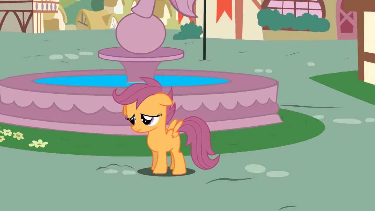 Scootaloo Flies With Ponyter Pan Youtube Now that mlp gen 4 has ended on a very sweet note, i feel confident that we were given enough information to say for sure why scootaloo can't fly. scootaloo flies with ponyter pan
