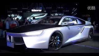 Hanergy Solar Powered Electric Cars  汉能太阳能汽车