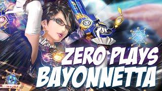 ZeRo Plays Bayonetta vs NME Xzax (Falco) -  Smash Bros Wii U