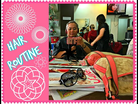 Hair Routine Lce Hair Saloon Holiday Plaza Hair Trimming