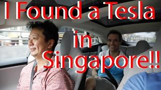 I Found a Tesla in Singapore!!!