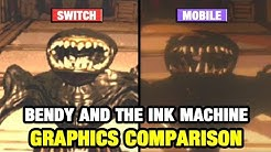 Bendy and the Ink Machine Graphics Comparison - Switch vs Mobile