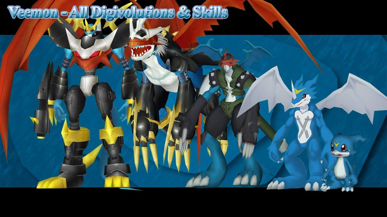 digimon veemon evolution - photo #42