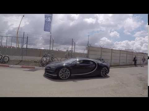 Bugatti Chiron at 24 Hours of Le Mans 2016