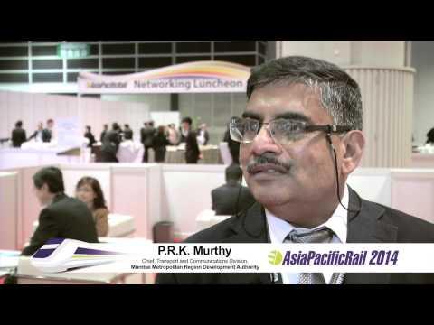 Testimonial on AP Rail 2014 by Mumbai Metropolitan Region Development Authority
