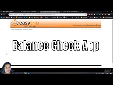 Check Your Balance On Your Phone With EasyTrip Android App