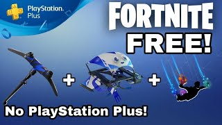 Fortnite: How to Get PlayStation Celebration Pack #3 for *FREE* Without Ps Plus! [PS4]