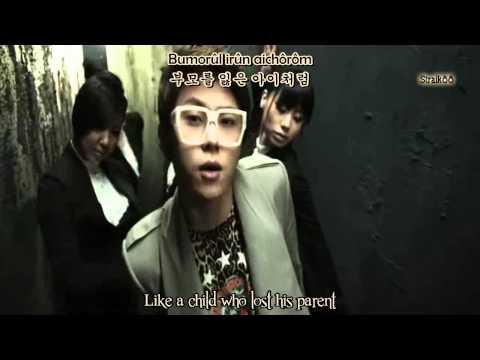 [HD/MV] Wheesung (휘성) ft JunHyung - Words That Freeze My Heart [Engsub+Romani]