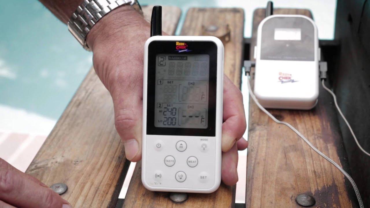 maverick et 733 wireless food thermometer youtube