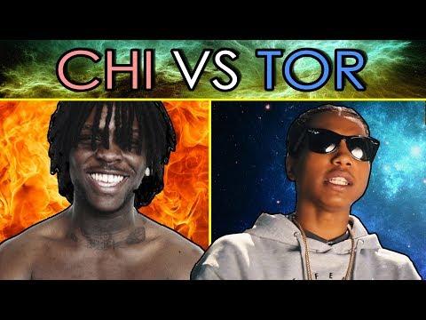 TORONTO VS CHICAGO RAPPERS