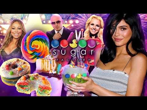 Celebrity Favorite Sugar Factory Scoops Up Epic Candy, Ice Cream & Milkshake Desserts