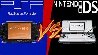 PSP vs Nintendo DS | Cual es mejor? | Batalla de Titanes XD