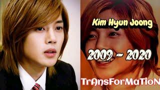 Kim Hyun Joong (Yoon Ji Hoo - Boys Over Flowers) Evolution 2009-2020   Transformation 2009 to 2020