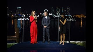 Alessandra Ambrosio celebrates OMEGA Seamaster Aqua Terra in Miami