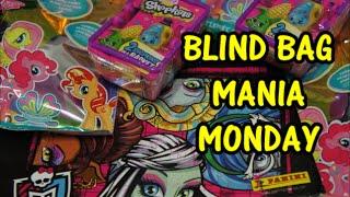 Blind Bag Mania Monday Wave 2 Shopkins | Wave 11 My Little Pony | Monster High