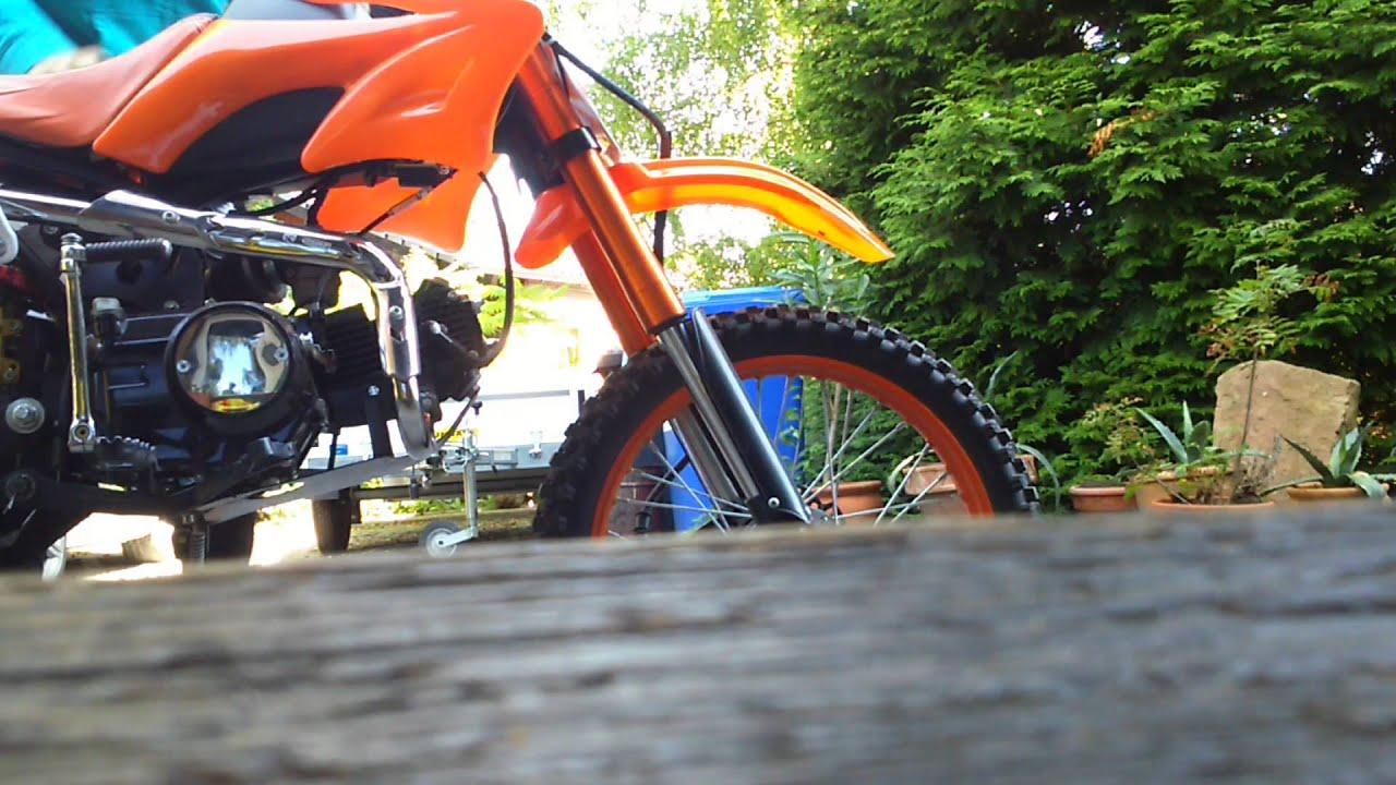 125ccm dirt bike jc ohne db youtube. Black Bedroom Furniture Sets. Home Design Ideas