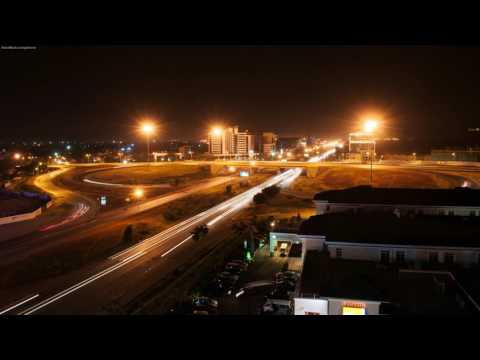 Nairobi flyover at Night 1st July