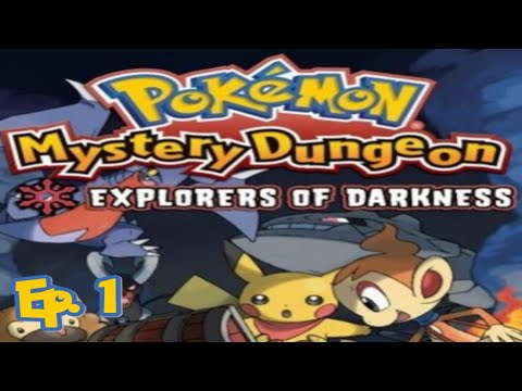 Pokémon Mystery Dungeon: Explorers Of Darkness - Ep. 1!