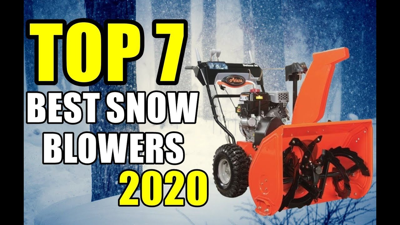 Best Snow Blower 2020.Best Snow Blowers For 2020 Top 7 Power Full Snow Blowers
