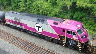 MBTA Engine + Big Transformer  Meets CN Grain Train