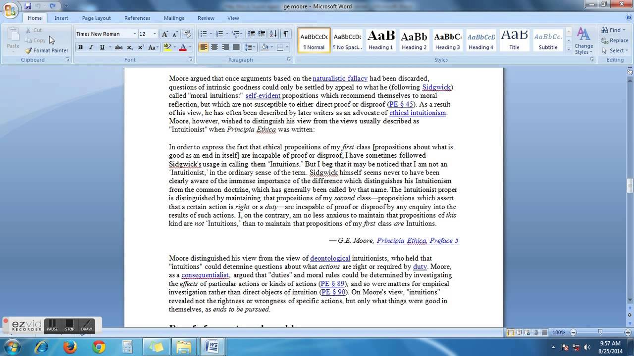 How To Delete A Page From Ms Word 2007