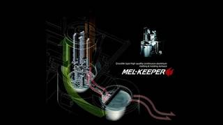 Mel Keeper Automatic Melting and Holding Crucible Furnace