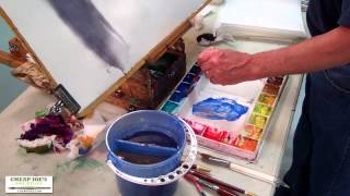 Watercolor Techniques with Don Andrews - Color Theory-Mixing Colors Part 1