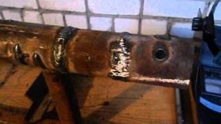 Устранение утечек на трубах за неопытными сварщиками(Иправление дефектов и устранение утечек на трубах в вертикальном положении, в этом видео завариваем более..., 2014-12-22T14:54:10.000Z)