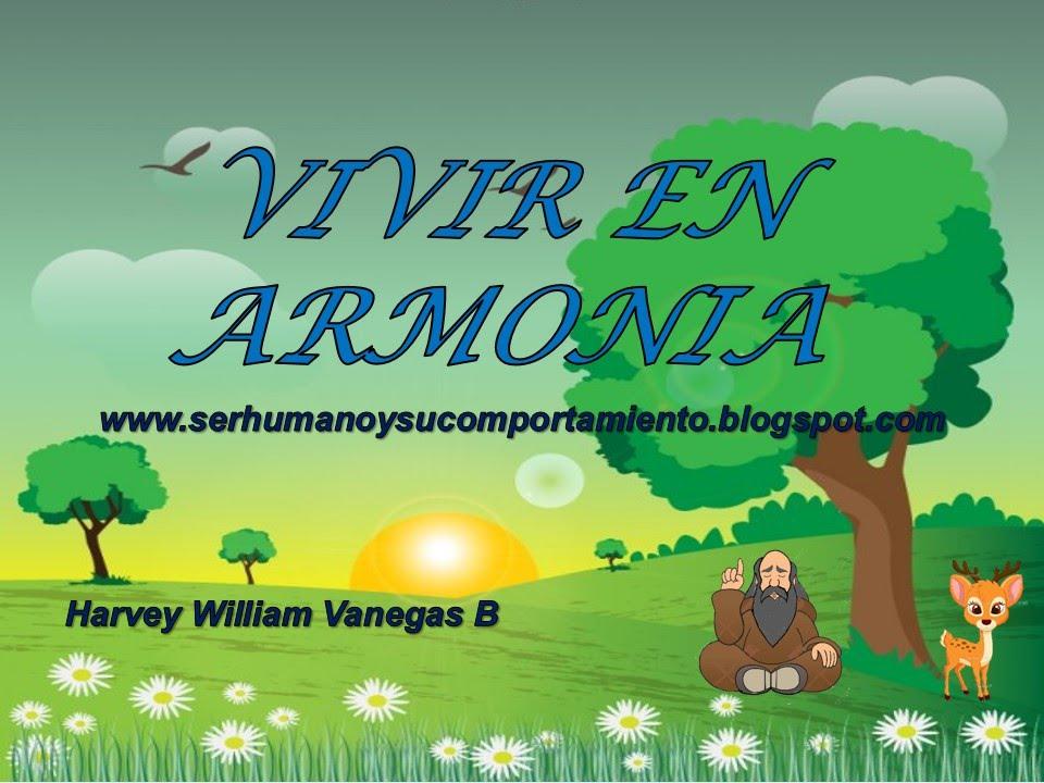 Vivir En Armonia Para Niños Youtube