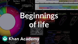 Beginnings of life | Life on earth and in the universe | Cosmology & Astronomy | Khan Academy