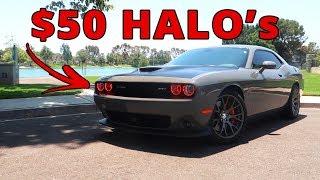 $50 Halo LED MOD every CHALLENGER owner SHOULD DO! (AURA LED)
