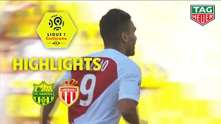 FC Nantes - AS Monaco ( 1-3 ) - Highlights - (FCN - ASM) / 2018-19