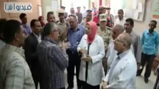 بالفيديو:  محافظ المنيا يقوم بأولي جولاته الميدانية لمراكز محافظة المنيا التاسع