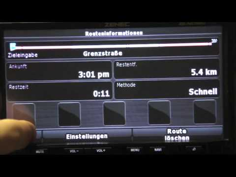 ZENEC ZE-NC 520  - Funktionsvideo -