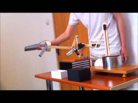 Robotic arm that copy human hand movements. Arduino based