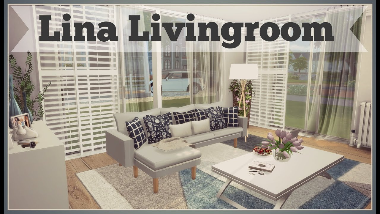 Superior Sims 4   Lina Livingroom (Download + CC Creators Links)