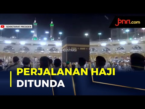Ustaz Solmed Lega Keberangkatan Haji Ditunda