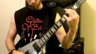 "Cradle Of Filth  - ""Honey and sulphur"" Guitar cover"
