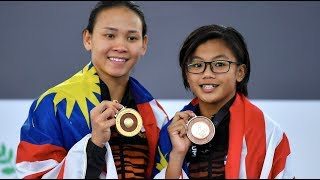 Download Video Diver Kimberly Bong making waves in KL SEA Games MP3 3GP MP4