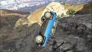 Grand Theft Auto V Dağda Araba Parçalamak