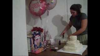 How to make a Princess Castle Birthday Cake