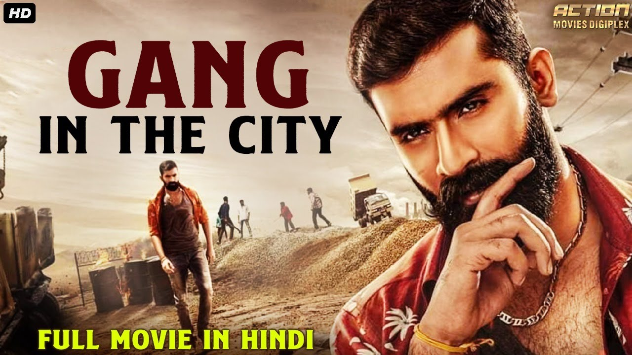 GANG IN THE CITY - Superhit Hindi Dubbed Full Action Movie | South Indian Movies Dubbed In Hindi