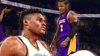 kevin durant challenge   crazy buzzer beater game winner over russell westbrook   nba 2k17 mycareer