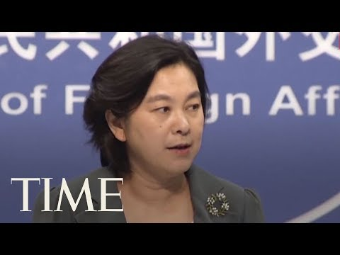 China's Ministry Of Foreign Affairs Denies Human Rights Abuse Allegations In Xinjiang | TIME