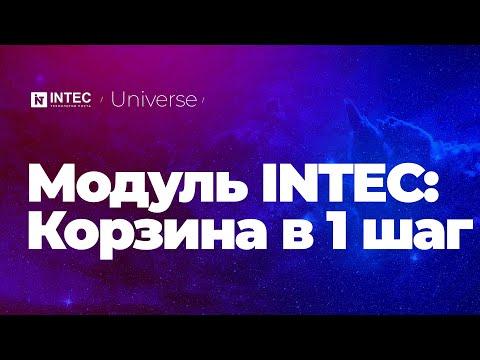 Модуль INTEC: Корзина в 1 шаг