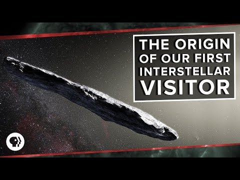 The Origin of 'Oumuamua, Our First Interstellar Visitor | Space Time