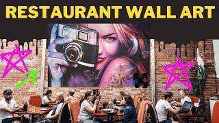 Restaurant Wall Art Mumbai   Wall Art Mumbai