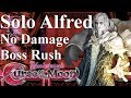 Bloodstained: Curse of the Moon - Solo Alfred Boss Rush 【NO DAMAGE】