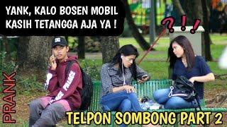 Telponan Sombong Disamping Orang Part 2   Prank Indonesia